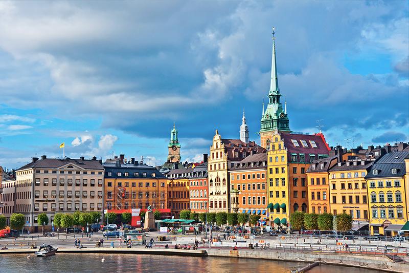 瑞典斯德哥尔摩老城(gamla stan)