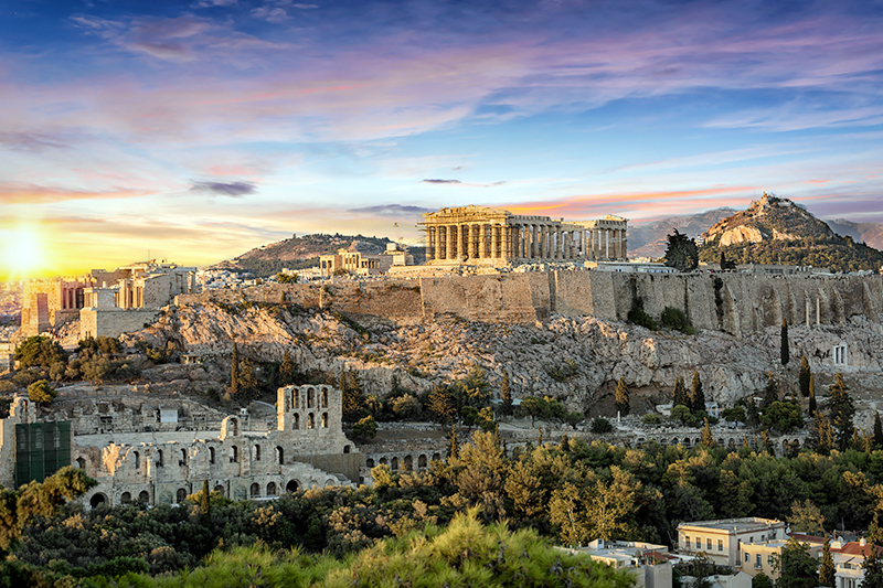 Find cheap hotels in Athens