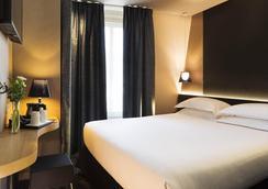 貝斯特韋斯特卡蒂耶拉丁帕特翁酒店 - 巴黎 - 臥室