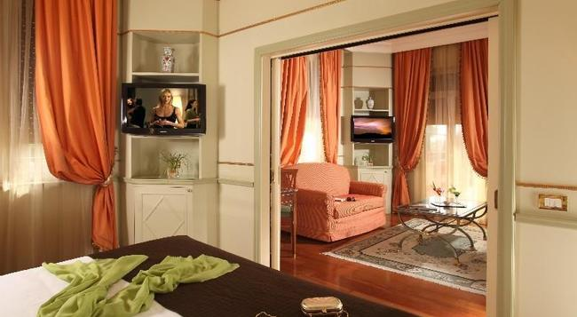 Hotel Degli Aranci - 羅馬 - 臥室