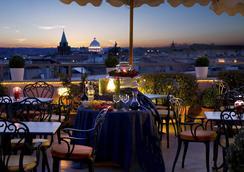 皇家瑪賽拉酒店 - 羅馬 - 酒吧