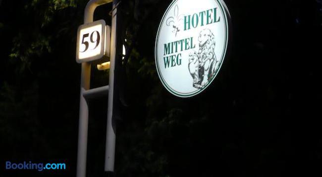 Hotel Mittelweg - 漢堡 - 建築