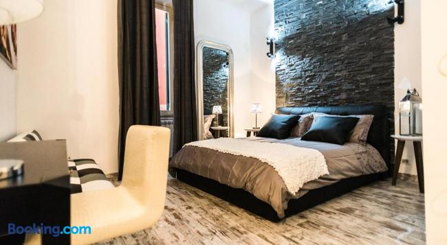 Trevi & Pantheon Luxury Rooms - 羅馬 - 臥室