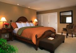 西海灘海濱賓館 - 聖巴巴拉 - 臥室