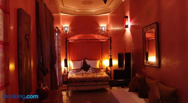 Riad Les Nuits de Marrakech - 馬拉喀什 - 臥室