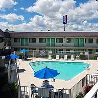 Motel 6 Reno Livestock Events Center Pool view