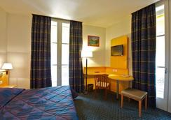 波城中心波旁酒店 - Pau - 臥室