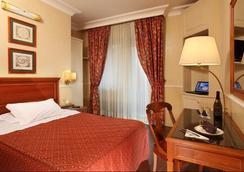 克里斯托弗·哥倫布酒店 - 羅馬 - 臥室