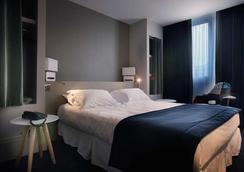 新科海博中心酒店 - Chambery - 臥室