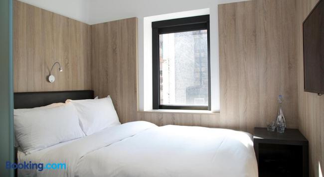 The Z Hotel Glasgow - 格拉斯哥 - 臥室
