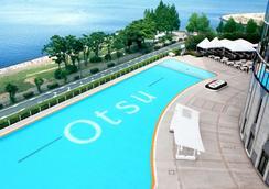大津琵琶湖王子酒店 - 大津市 - 游泳池
