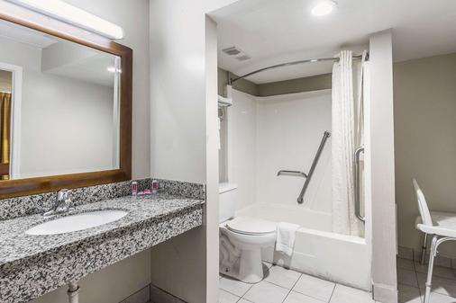 北部伊克諾飯店 - 塔拉哈西 - 浴室