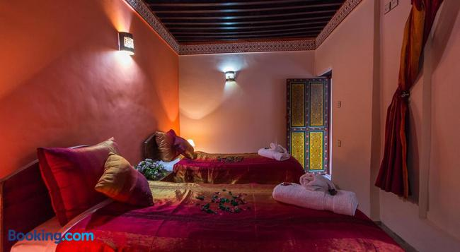 Casa Aya Medina - 非斯 - 臥室