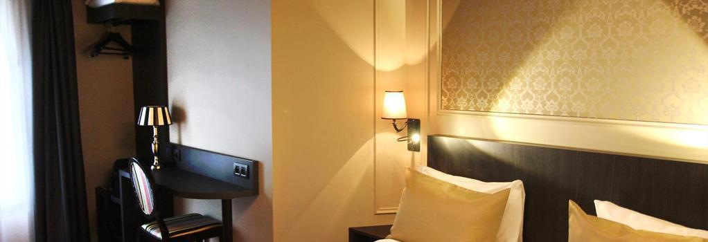 Best Western Hotel Le Montmartre Saint Pierre - 巴黎 - 臥室