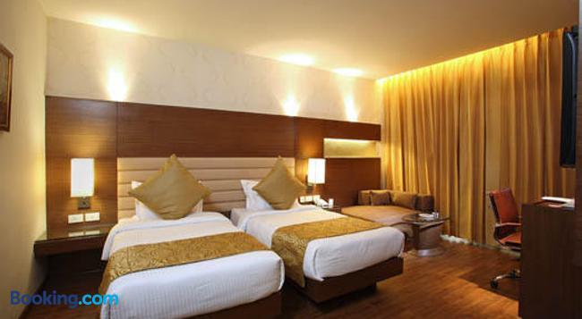 Indus Biznotel - 新德里 - 臥室