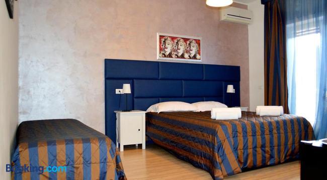 Check-Inn Rooms - 羅馬 - 臥室