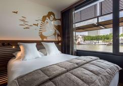 巴黎OFF塞納酒店 - 巴黎 - 臥室