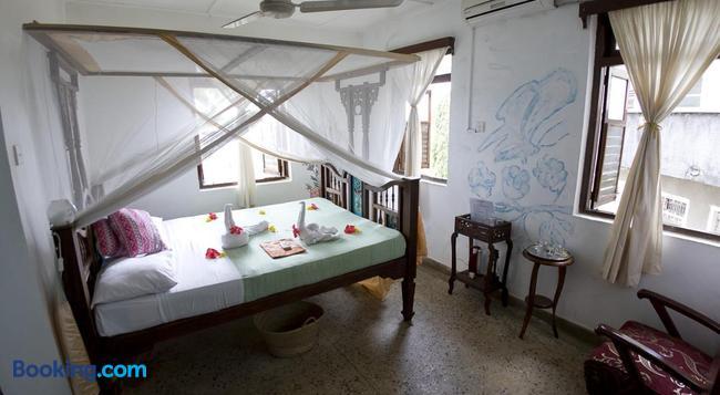 Zenji Hotel - 桑給巴爾 - 臥室
