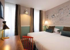3普森酒店 - 巴黎 - 臥室