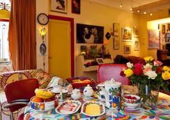 Xaviera's Bed and Breakfast - 阿姆斯特丹 - 餐廳