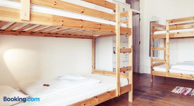 Lisbon Chillout Hostel - 里斯本 - 臥室