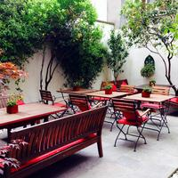 The Royal Park Hotel Terrace/Patio