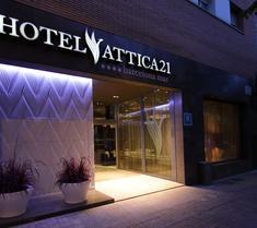 阿提卡21號巴塞羅那馬爾酒店