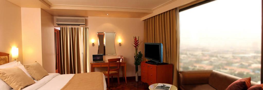City Garden Hotel Makati - Makati - 臥室