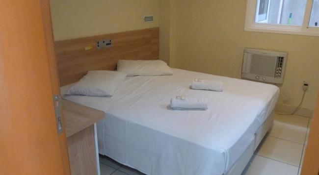 Hotel Minuano Home - 阿雷格里港 - 臥室