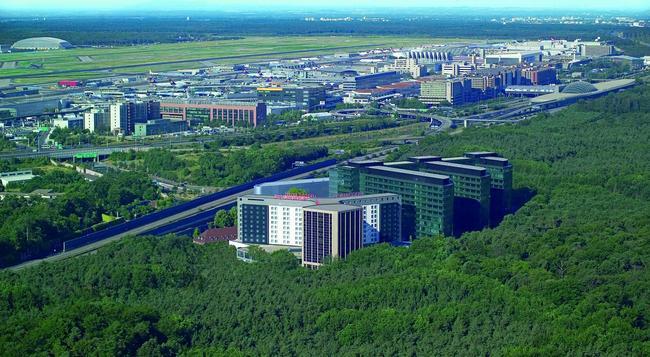 Steigenberger Airport Hotel - 法蘭克福 - 建築