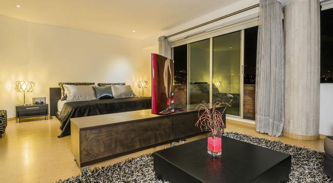 Hotel Egina Medellín - Medellin - 臥室