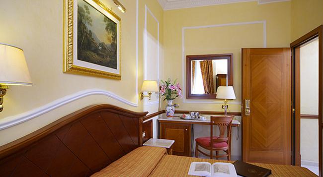 Hotel Hiberia - 羅馬 - 臥室