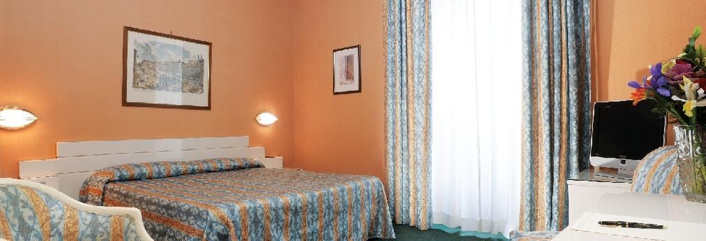 Hotel Patria - 羅馬 - 臥室