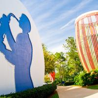 Disney's All-Star Music Resort Exterior detail