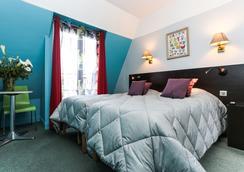 蒙馬特麗晶青年旅館 - 巴黎 - 臥室