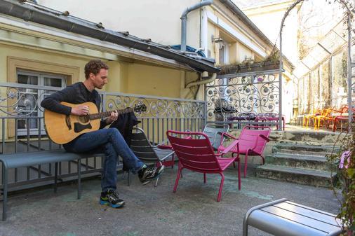 蒙馬特村莊飯店 - 嘻哈飯店 - 巴黎 - 陽台