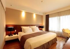 國都貝斯特韋斯特尊貴酒店 - 首爾 - 臥室