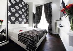 一間梵蒂岡客房旅館 - 羅馬 - 臥室