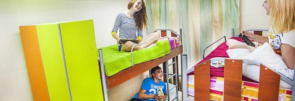 Millenium Hostel - Omsk - 臥室