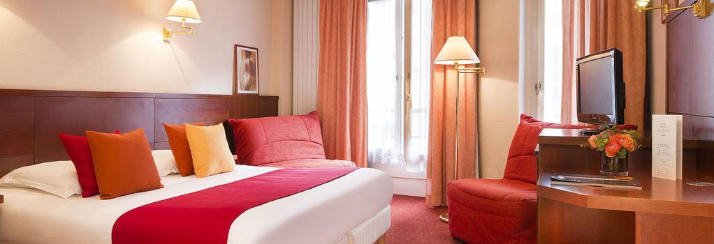 Hôtel Londres Saint-Honoré - 巴黎 - 臥室