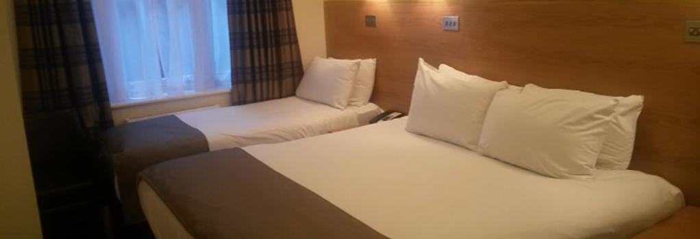 Regency Hotel Parkside - 倫敦 - 臥室