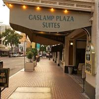 Gaslamp Plaza Suites Hotel Entrance