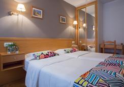 綠色海岸酒店 - Gijon - 臥室