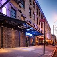 Sohotel Hotel Front - Evening/Night