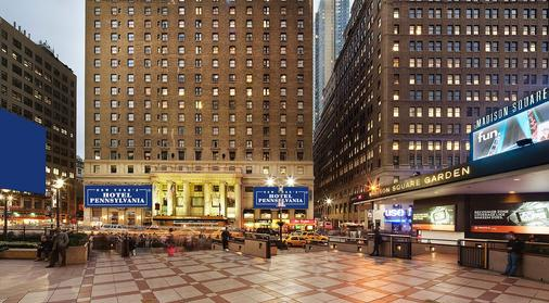 賓夕法尼亞飯店 - 紐約 - 建築