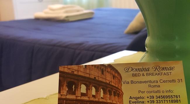 Domina Romae B&B - 羅馬 - 臥室