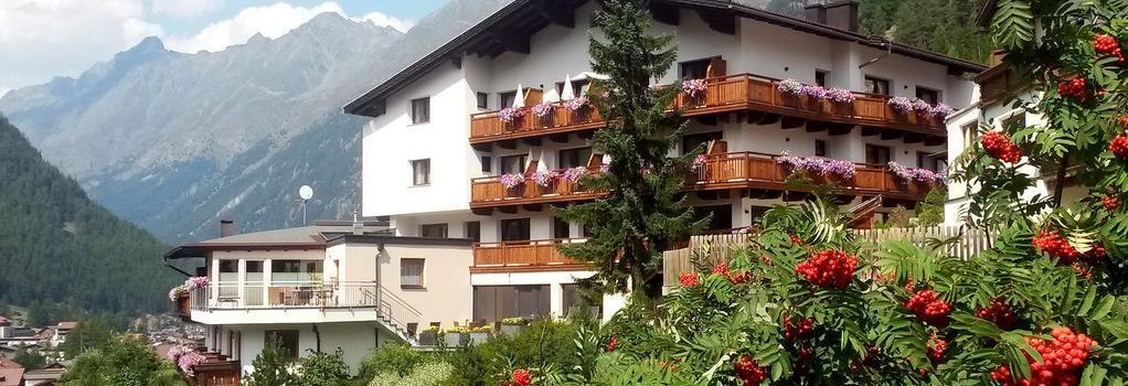 Hotel Garni Fiegl Apart - 索爾登 - 建築