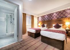 城市大陸倫敦肯辛頓酒店 - 倫敦 - 臥室