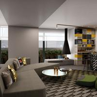 W Amsterdam E-Wow Suite - Rendering