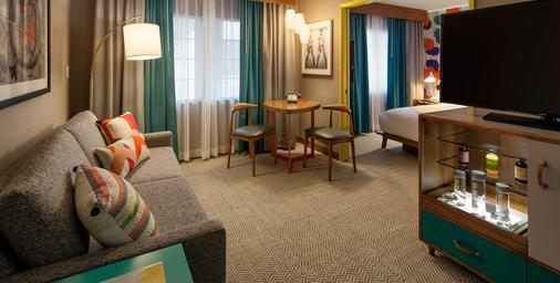 肯尼- 威尼斯海灘酒店 - 洛杉磯 - 客廳